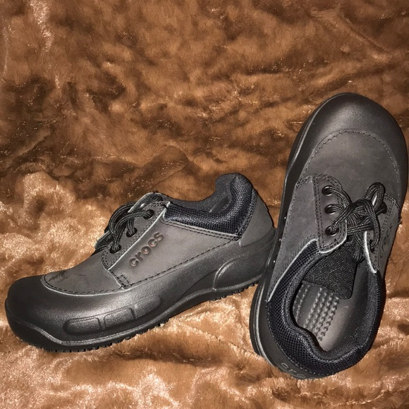 Black Lace Up Shoes Size 4m 6w   Poshmark